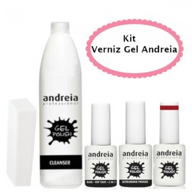 Kit Verniz Gel Andreia